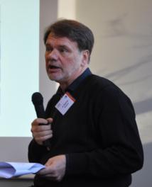 Dr Christian Martens et Dr Yves Doutrelugne au Congrès Mondial d'Hypnose de Paris en 2015