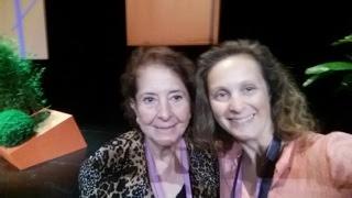 Teresa ROBLES et Laurence ADJADJ de Marseille