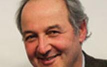 Dr Marc Galy et Gaston Brosseau au Congrès Mondial d'Hypnose de Paris