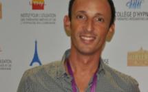 Drs Guillaume Belouriez et Jean-Marc Benhaiem au Congrès Mondial d'Hypnose de Paris 2015