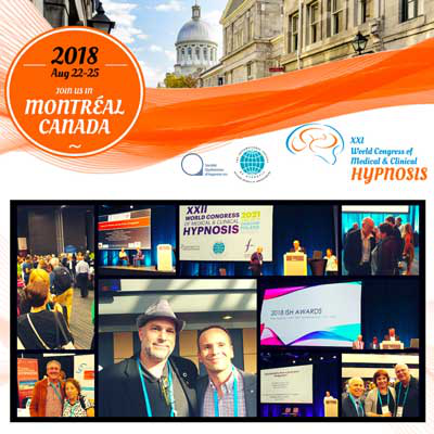 Congrès Mondial Hypnose 2018 à Montréal
